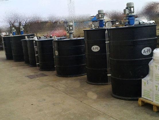 Posude za pripremu hemikalija-Tehnika plast
