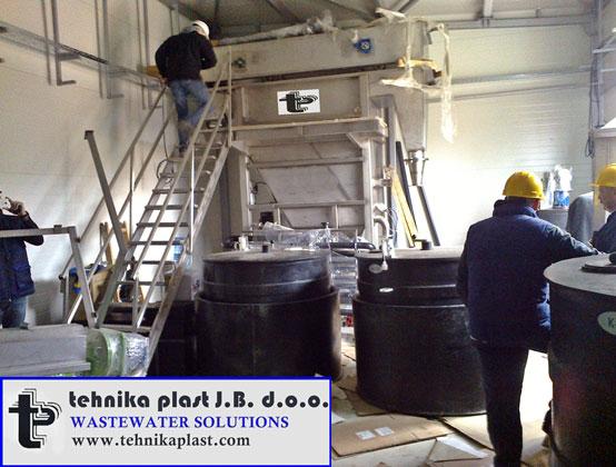 Vazdusna flotacija-Dissolved air flotation-Tehnika plast.