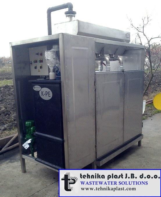 Dehidrator mulja-Tehnika plast