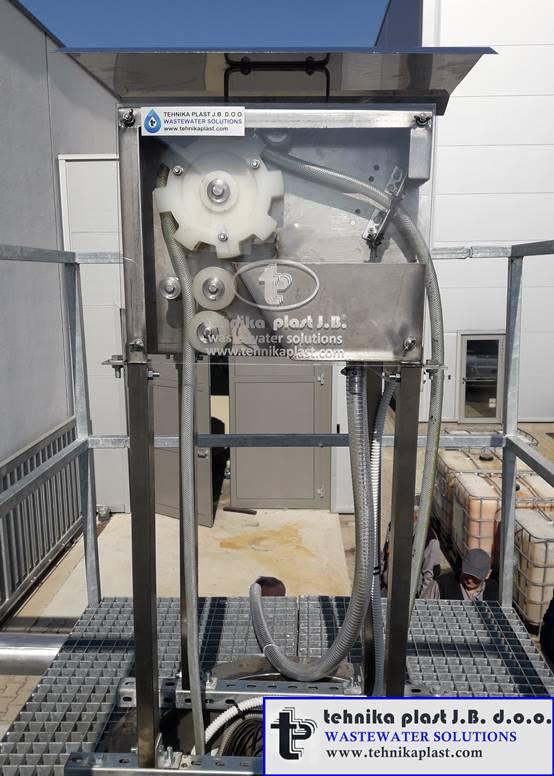Uredjaj za uklanjanje ulja iz vode (separator ulja)